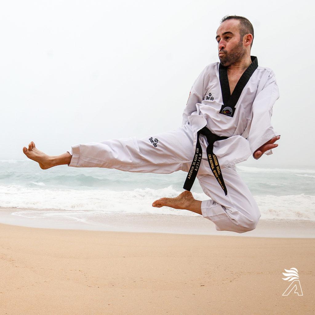 Álex Vidal taekwondo