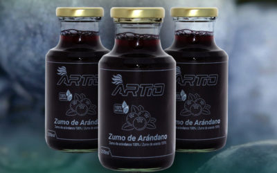 Disfruta de todos los beneficios de los arándanos en el nuevo zumo artesanal de Artio